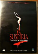 SUSPIRIA di Dario Argento - EDIZIONE SPECIALE 2 DVD - FUORI CATALOGO