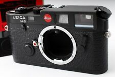 """NEAR MINT+++"" Leica M6 35mm Rangefinder Film Camera Black Body from Japan #322"