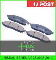 Fits NISSAN SERENA C25 Pad Kit, Disc Brake, Front