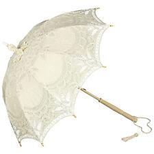 Von Lilienfeld Mariée Au parapluie Soleil Marietta beige-crème mariage dentelle