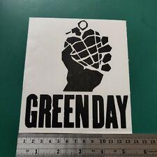 Green Day logo - Camper/Car/Van/Fridge/Laptop Vinyl Decal Sticker