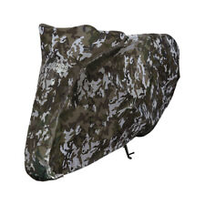 Oxford Aquatex Camo Moto Motorcycle Elasticated Base Adjustable Cover | Medium