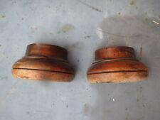 anciens elements pieds meuble restauration bois  massif noyer patine decor