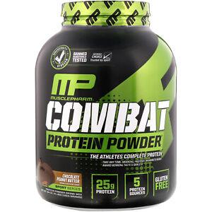 Combat Protein Powder, Chocolate Peanut Butter, 4 lbs (1814 g)