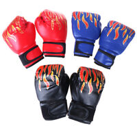 Boxhandschuhe Kinder Junior Jugend Sparring Training Kick Boxhandsc LM