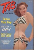 Tab Digest November 1953 Marilyn Monroe Lili St Cyr Cheesecake Pin Up 092418ame