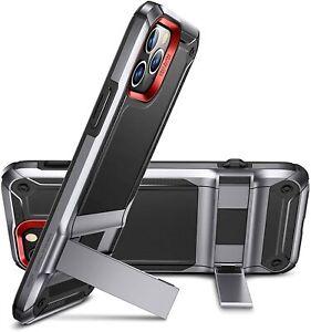 ESR Machina Tough Military Grade Metal Kick Stand Case Cover for iPhone 12 Pro