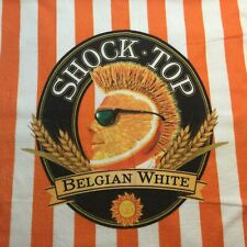 Shock Top Beer Micro Fiber Beach Pool Towel Beers Craft Belgian White #17