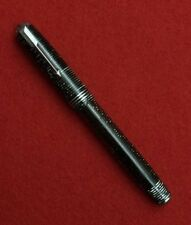 1938 Parker Vacumatic Major, Grey & Trans. Striped, chrome trim 14K nib RESTORED