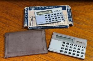 VINTAGE BOOTS SC4 DIGITAL CALCULATOR - INCLUDES ORIGINAL BOX - UNTESTED
