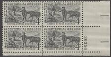 Scott # 1130 - Us Plate Block Of 4 - Silver Discovery - Mnh - 1959