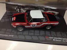 1/43 FIAT ABARTH 124 RALLY-RALLYE SAN REMO 1973-VERINI-IXO RALLY CAR COLLECTION
