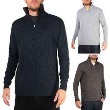 Herren-Pullover & -Strickware aus Wolle Marine in normaler Größe