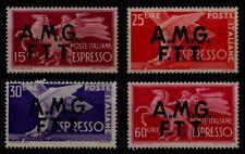 TRIESTE A 1947-48 Democratica, espressi 4v MNH**