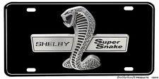Shelby Super Snake Emblem Aluminum License Plate or Man Cave Sign