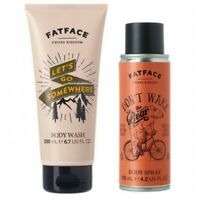 Fat Face Bath and Body Duo Father`s Day Gift Set