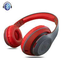 Wireless Bluetooth Headphones Foldable Stereo Headsets w/ MIC For Samsung iPhone