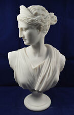 Artemis sculpture Diana bust Ancient Greek Goddess of hunt Great statue