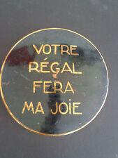 Vintage(c.1940) Copper Candy Box, Marquise de Sévigné, Paris, INV 2045