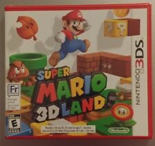 Super Mario 3D Land, English & French, Brand New Factory Sealed