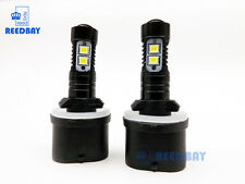 NEW 2x 880 899 50W 6000K White CREE High Power LED Projector Fog Lights Bulbs