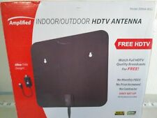1byone Digital Amplified Indoor HD TV Antenna Up to 80 Miles Range, E36