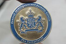 The Netherlands Intelligence and Security Service Challenge Coin