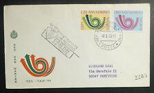 FDC  F.A.I.P. - S.MARINO - EUROPA - 1973