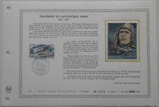 Document Artistique DAP 287 1er jour 1977 Traversée de l'Atlantique Nord