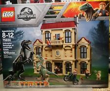 LEGO 75930 Jurassic World Fallen Kingdom Indoraptor Rampage at Lockwood Estate