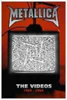 "METALLICA ""THE VIDEOS 1989-2004"" DVD NEUWARE"