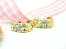 Ohrschmuck im Ohrstecker-Stil aus mehrfarbigem Gold mit SI Reinheit