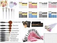 Multipcs Makeup Brush Cosmetic Set Kit Eyeshadow Face Foundation Powder Brush