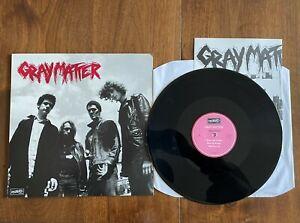 "GREY MATTER - TAKE IT BACK - 1986 DISCHORD 12"" VINYL EX/EX US HARDCORE PUNK"