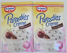 Dr.Oetker Paradise Cream dessert: Striaciatella -Pack Of 2- Free Shipping