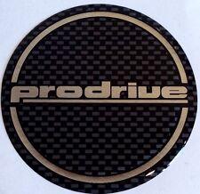 Prodrive - 555 Subaru Impreza Chrome / Black 60mm Gel wheel centres x 4