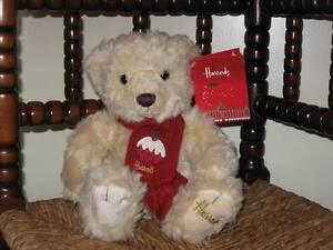 HARRODS 2009 RUFUS Small Christmas Bear