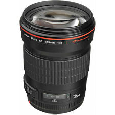 CANON EF 135mm f/2L USM F2 L Camera Lens