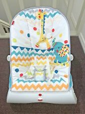 Fisher-Price  Colourful Carnival Baby  Bouncer - As New