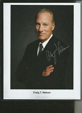 Fantastic Craig T Nelson Coach Signed 8 x 10 Photo & Top Loader!