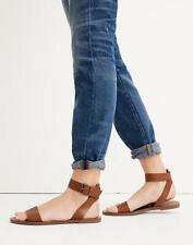 Madewell Boardwalk Ankle Strap Sandals Tan Leather Women 8.5 M