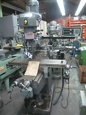 Lagun Ram Type Vertical Turret Milling Machine, Model # FT1, Excellent! DRO!