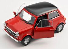 BLITZ VERSAND Mini Cooper 1300 rot 1974 1:34 Welly Modell Auto NEU & OVP