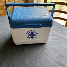 Vintage GOTT TOTE 6 Cooler Refreeze Bottle Santa Fe New Mexico Division RR