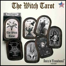 Witch tarot card cards deck guide book major arcana wicca oracle rare vintage
