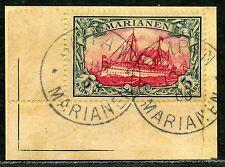 Marianen Mi 19  Ecke  Luxusbriefstück  Saipan   600,-