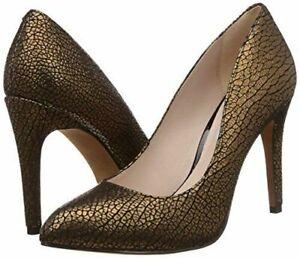Clarks Always Chic Gold Metallic Women's Heel Shoes UK Size  6D