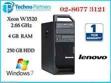 Lenovo ThinkStation S20 Intel Xeon W3520 4G 250G Win 7 Pro Warranty Workstation