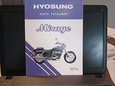 HYOSUNG GV125 PARTS MANUAL