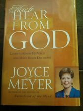 How to Hear from God: Learn to Know His Voice and Make Right Decisions, Joyce M.